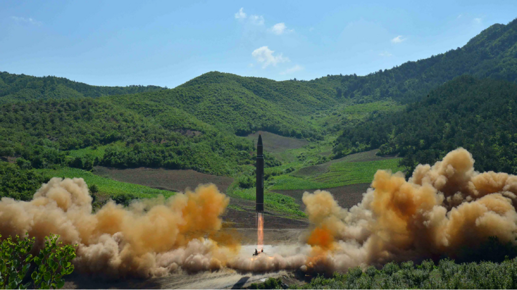 North Korea fired unidentified projectile in Sea of Japan